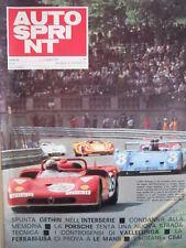 Autosprint n°23 1971 MC Laren Can-AM - Alfa Romeo Ferrari  [P47]