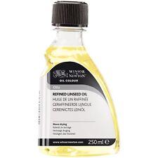 Winsor & Newton Ölfarbe Malfarbe Raffiniertes Leinöl 250ml
