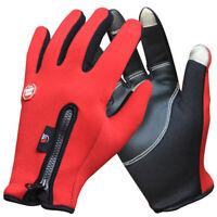 JUNGLELEOPARD Outdoor Winter Thermal Bike Gloves Windproof Warm Full Finger J5F2