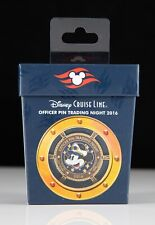2016 Disney Cruise Line Officer Pin Trading Night Pin DCL Mickey