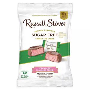 Russell Stover Sugar Free Chocolate Strawberry Creme