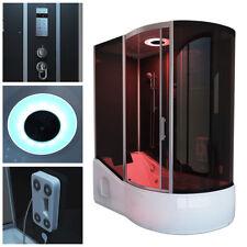 Home Deluxe Dampfdusche Duschkabine Duschtempel Dampfsauna Whirlpool Wanne Sauna