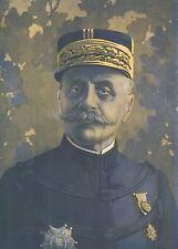 K1090 Ferdinand Foch - Portrait - Ritratto - Stampa d'epoca - 1915 Old print