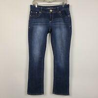 Maurices Straight Leg Womens Dark Wash Jeans Size 5/6 REG