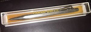 Vintage CARAN  D'ACHE ECRIDOR Mechanical Pencil Silver Plated With Box.