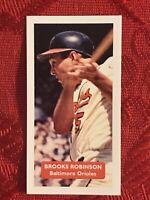 BROOKS ROBINSON BASEBALL CARD-ORIOLES-RARE U.K.ISSUE-VERY SCARCE CARD-MINT