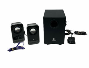 Logitech Multimedia Computer Speakers LS21 with Subwoofer and Hand Controller
