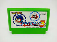 Famicom Family Game - Rockman 3 1990 Megaman - Patrone Version Japan