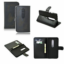 Leather Pocket Wallet Cover Case Stand For Motorola Moto G3 Moto G 3rd Gen 2015