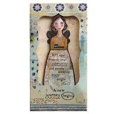 Kelly Rae Roberts Journey Angel Ornament Card