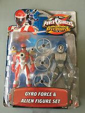 POWER Rangers OPERATION Overdrive Gyro Forza & ALIENO TWIN pacck NUOVO SIGILLATO