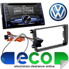 Volkswagen Transporter T5.1 JVC Double Din CD MP3 USB AUX Car Stereo Fascia Kit
