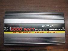 12V DC TO 120V AC 3000 WATT POWER INVERTER WITH DISPLAY,