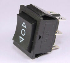 Power Window Sunroof Rocker, 16A 125VAC Double Momentary Switch DPDT (ON)OFF(ON)