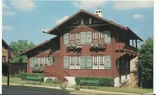 Chalet of the Golden Fleece 618 2nd St  New Giarus, Wisconsin post card