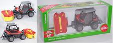 Siku Farmer 3068 Aebi Terratrac TT211 mit Front-Kreiselmäher, 1:32