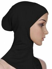 Women Under Scarf Cap Bone Bonnet Ninja Hijab Islamic Neck Cover Muslim Shiny