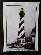 Cape Hatteras Lighthouse Print By Henry Parker