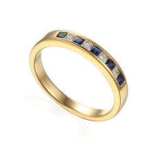 Princess Natural Sapphire Fine Rings