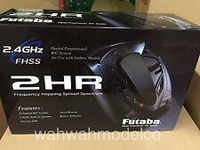 Futaba 2.4G 2-Channel 2HR R202GF + 2x S3003 servo Radio Controller Set 1/10 1/12