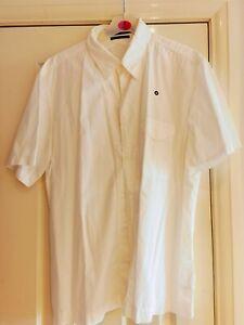 Used Vintage Stone Island Denims Shirt XL White