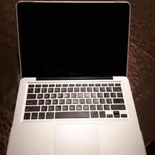 computer laptop Macbook Pro 13 inch model 2012