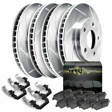 Slotted Stoptech 977.44012R Sport Axle Pack Rear