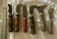 ANTIQUE Tools Vintage Wood Handle Tools • Woodworking Carpentry Mixed Tools ☆USA