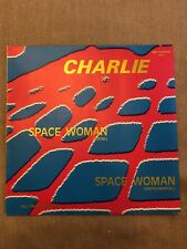 "CHARLIE Space Spacer Woman 12"" Maxi Vinyl zyx records 5202 NM golden letters"