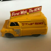 Matchbox Lesney No 42 / Bedford Evening News Van /  Good Condition