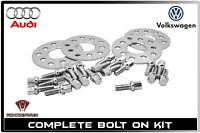 4pc 5mm Hub Centric Wheel Spacers Kit 5x100 / 5x112 | 57.1 | Audi & Volkswagen