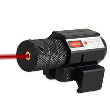 Tactical Laser Sight 20mm Red Dot Picatinny Weaver Rail Mount Pistol Gun Airsoft