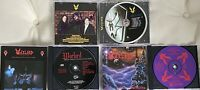 WARLORD-1st PRESS OOP 3CD 2003 Rising-Autographed; '93 Best of; '97 Cannons!