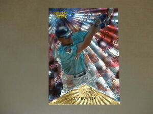 """Jay Buhner 1996 Pinnacle ARTIST""""S PROOF #124 Rare Parallel Card Dufex Mariners"""