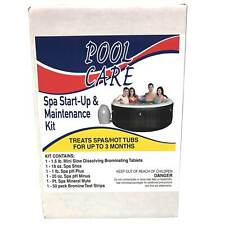 Pool Care 14890 Home 3 Month Spa Hot Tub Chemical Maintenance Kit with Bromine