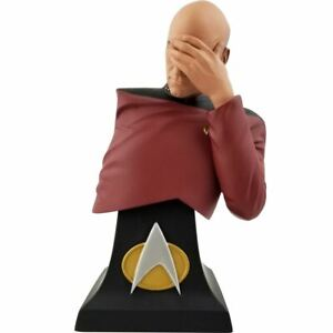Star Trek The Next Generation Picard Facepalm Limited Edition Bust - San Diego C