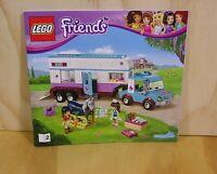 Lego Friends Instruction Book No 41125/2 Genuine Lego. No Bricks Manual Only.