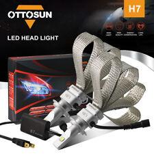 H7 Cree Chipset 72W 8000LM LED Headlight Bulbs 5700K Light Conversion Kit Pair