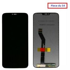 ECRAN LCD COMPLET + VITRE TACTILE MOTOROLA MOTO G7 POWER NOIR (#A268#)
