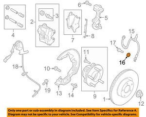 FORD OEM Brake-Rear-Brake Hose Washer W711784S300