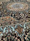 Museum quality, handmade silk on silk rug. Highest quality in the world