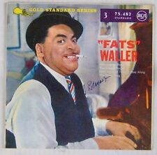 Pochette Tabac 45 tours Fats Waller RCA 1960