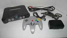 Nintendo 64 Console System with OEM Cords &1 OEM Controller