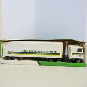 "Ertl Chevy Titan ""John Deere Parts Express"" Semi/Van made USA 1/25 JD-5533-B"