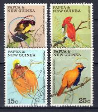 Papua New Guinea - 1970 Birds of Paradise - Mi. 175-78 VFU