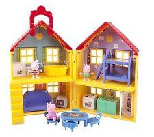 PEPPA PIG HOUSE PLAYSET *NEW* George Suzy figure Sheep Bathtub Beds figures home