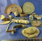 17 Civil War Camp Battlefield finds, Chloroform Lid, Canteen, Trigger Guard