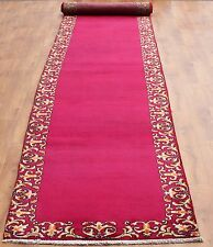 Persian Traditional Vintage Wool 570cmX96cm Oriental Rug Handmade Carpet Rugs