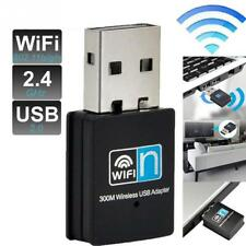 300Mbps USB WiFi Wireless 300M Adapter Wi-Fi Dongle High Signal Gain 802.11n/g/b