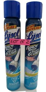 Lysol Ready Brush Toilet Bowl Cleaner (Refill Can) Cleaning System Discontinued